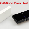 20000mAh portable Battery Charger Power Bank Dual USB 2.1A/1A