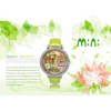 Handmade POLYMER CLAY Mini diamond Dress Women Watch