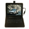 High Quality 10 inch Leather Case  with Keyboard for Tablet PC