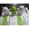Android Robot Bluetooth FM-Radio/TF Card Speaker with Hands-Free For Smartphone/Tablet